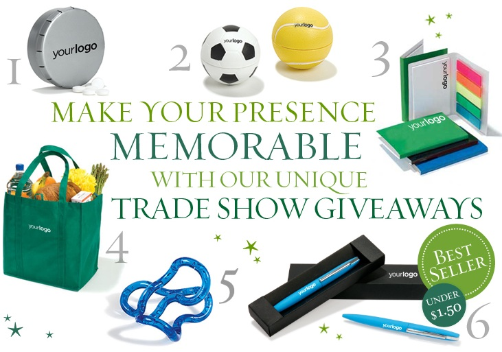 Creative trade show giveaway ideas